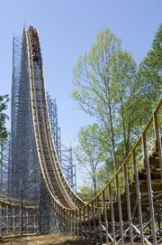 Click here to see a video of The Voyage roller coaster at Holiday World.